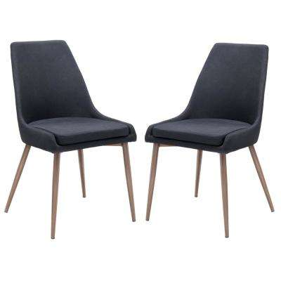 Ethen Dining Chair in Black (Set of 2)