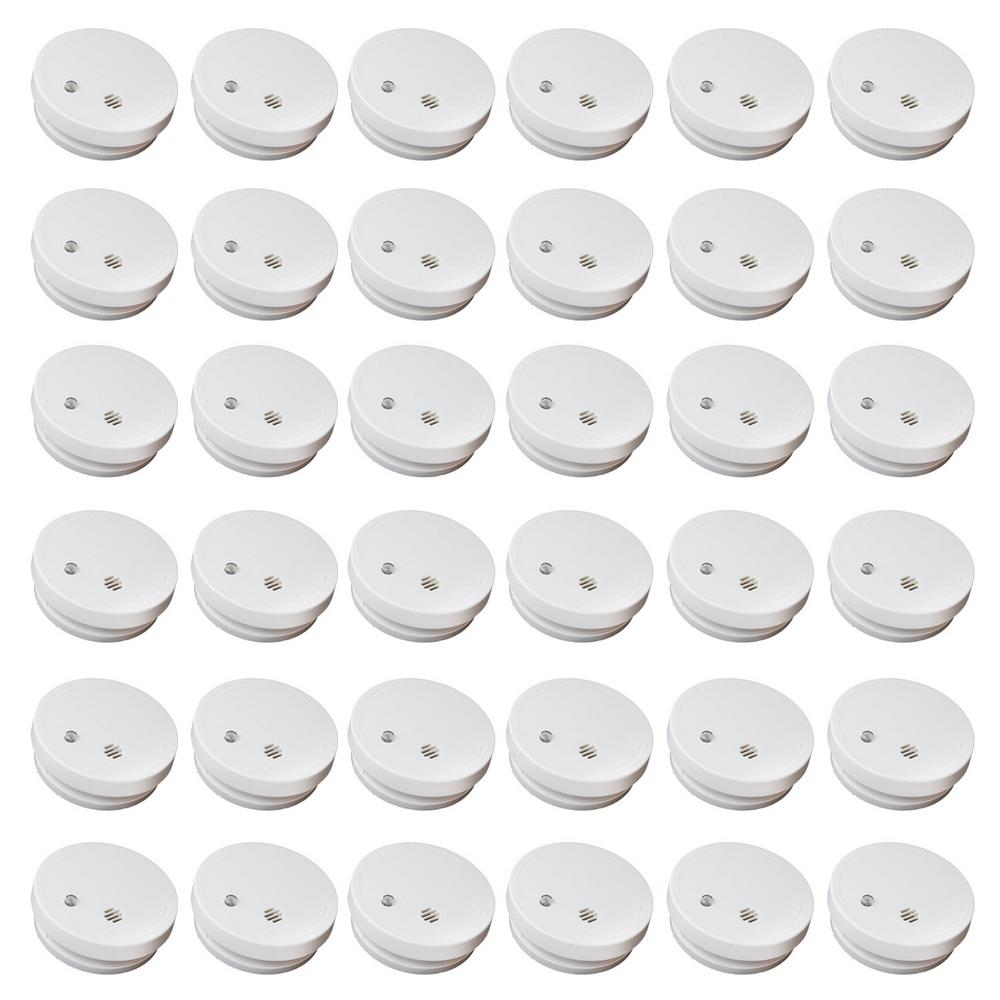 Kidde Battery Operated Ionization Smoke Detectors 36 pack