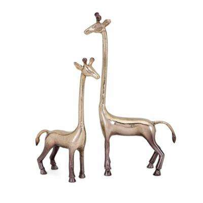 Diagle Aluminum Giraffes (Set of 2)