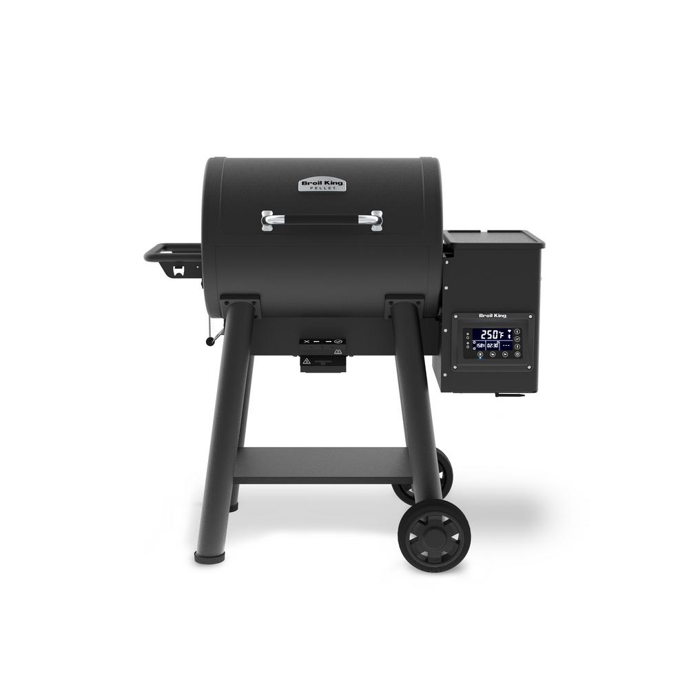 Broil King Baron 400 Pellet Grill in Black