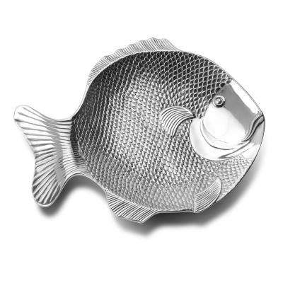 Sea Life 19 in. x 14 in. Fish Serving Platter
