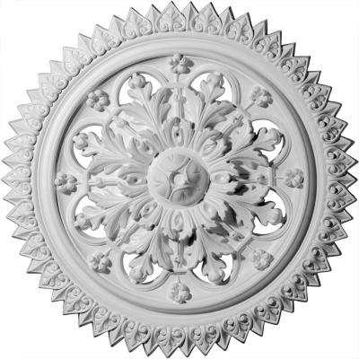 21-5/8 in. OD x 2-1/2 in. P (Fits Canopies up to 3-5/8 in.) York Polyurethane Ceiling Medallion