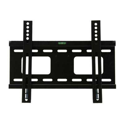 23 in. - 37 in. Fixed Television Wall Mount in Black