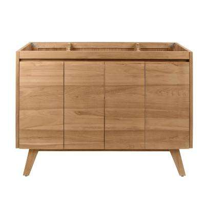 Coventry 48 in. Vanity Cabinet Only in Natural Teak
