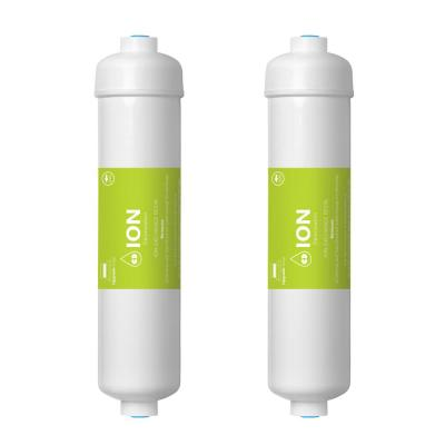 Deionization Water Filter Cartridge DI Mixed Bed Purifier 10 in. Under Sink and Reverse Osmosis System (2-Pack)