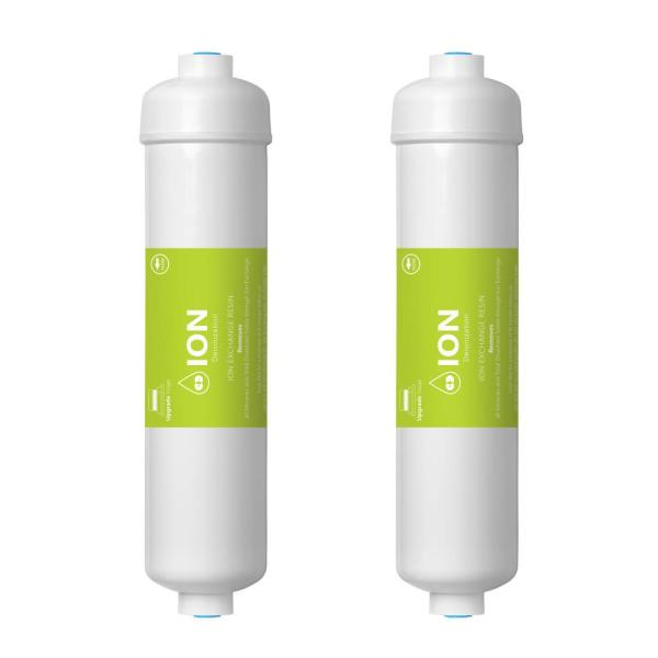 Express Water – 2 Pack Deionization Water Filter Replacement – DI Water Purifier – 10 inch – Under Sink and RO System