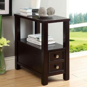 Lydle Espresso Side Table