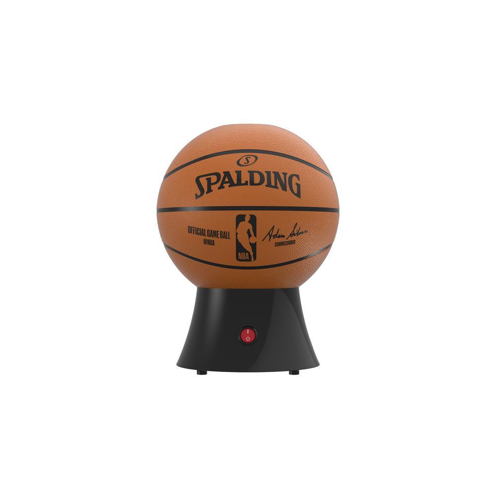 Kernel Capacity 3 oz. Orange and Black NBA/Spalding Hot-Air Popcorn Maker