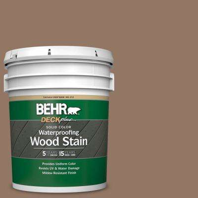 5 gal. #SC-147 Castle Gray Solid Color Waterproofing Exterior Wood Stain