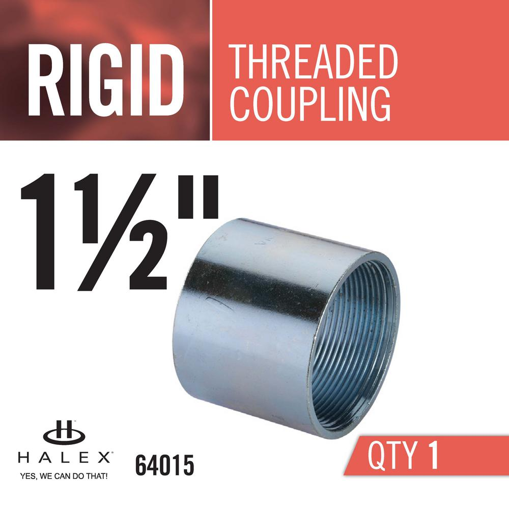 """NEW Aluminum Coupling Tubular Threaded 3//4/"""" inch Connector Fitting Pipe 10 pc"""