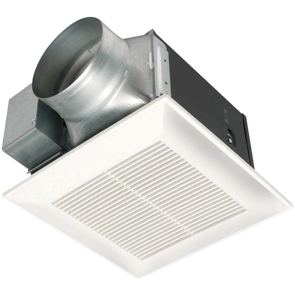 Panasonic whisperceiling 150 cfm ceiling exhaust bath fan for Bathroom ceiling fans