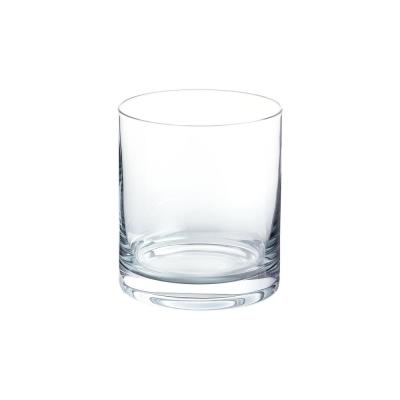Skylar 12.4 oz. Charcoal Gray Ombre Double Old-Fashioned Glasses (Set of 4)