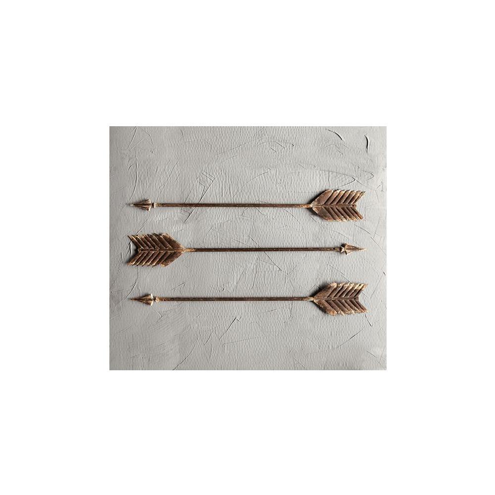 Home Decorators Collection Metal Arrow Wall Sculpture