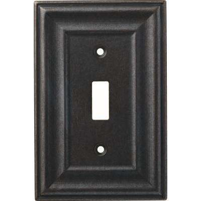 1-Gang Winslow Decorative Single Switch, Soft Iron