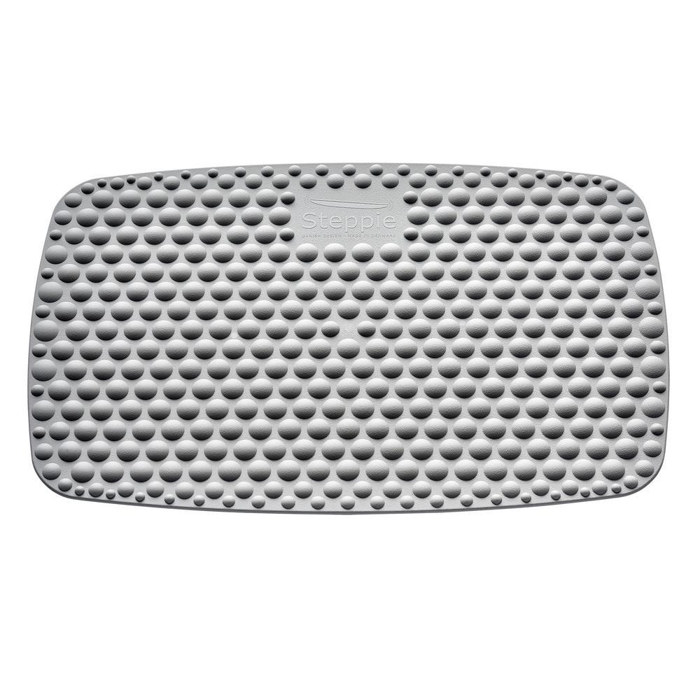 Steppie Gray Soft Top Mat for Standing Desks