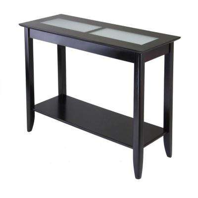 Syrah Espresso Console Table