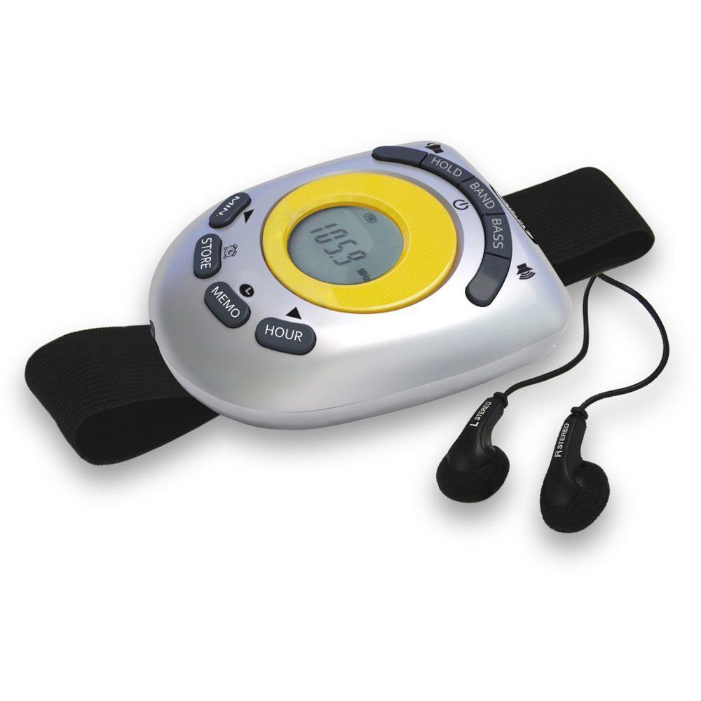 Digital AM/FM Stereo Armband Radio