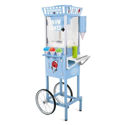 Vintage 575 oz. Snow Cone Machine Cart in Blue