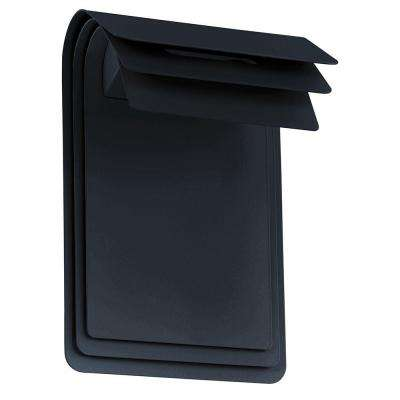 Sojo 2-Light Matte Black Outdoor Integrated LED Wall Light