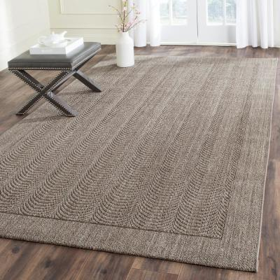 Palm Beach Silver 8 ft. x 10 ft. Area Rug