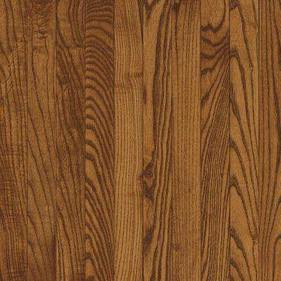Bayport Oak Fawn 3/4 in. Thick x 3-1/4 in. Wide x Varying Length Solid Hardwood Flooring (22 sq. ft. / case)