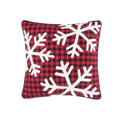 18 in. x 18 in. Woodford Snow Pillow