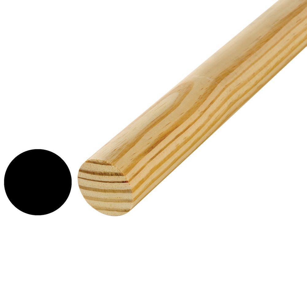 5/16 in. x 48 in. Hardwood Full Round Dowel