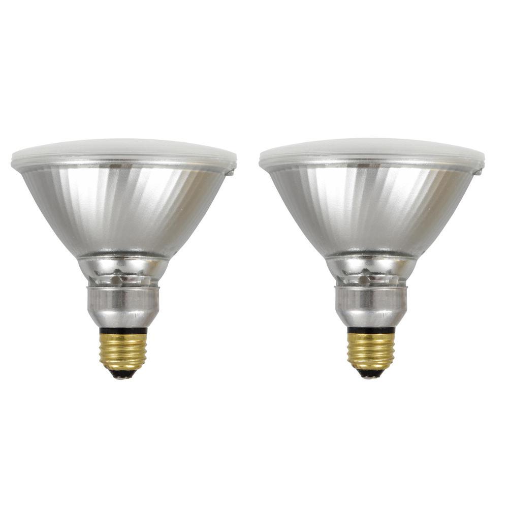 Sylvania 100 Watt Equivalent Par38 Ultra Bright Led Light Bulb 2 Pack 40330 The Home Depot
