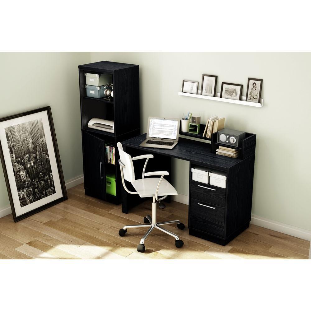 South S Academic Black Oak Workstations