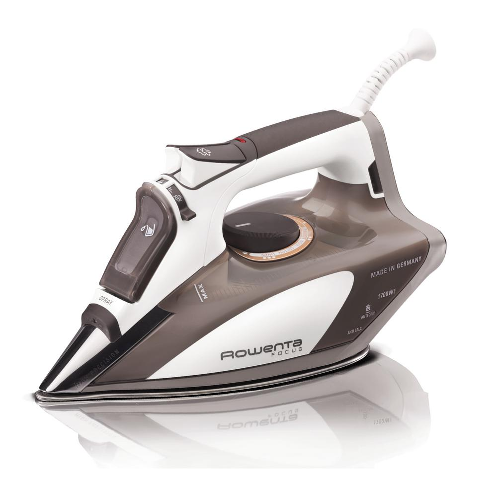 rowenta focus steam iron dw5080 the home depot. Black Bedroom Furniture Sets. Home Design Ideas