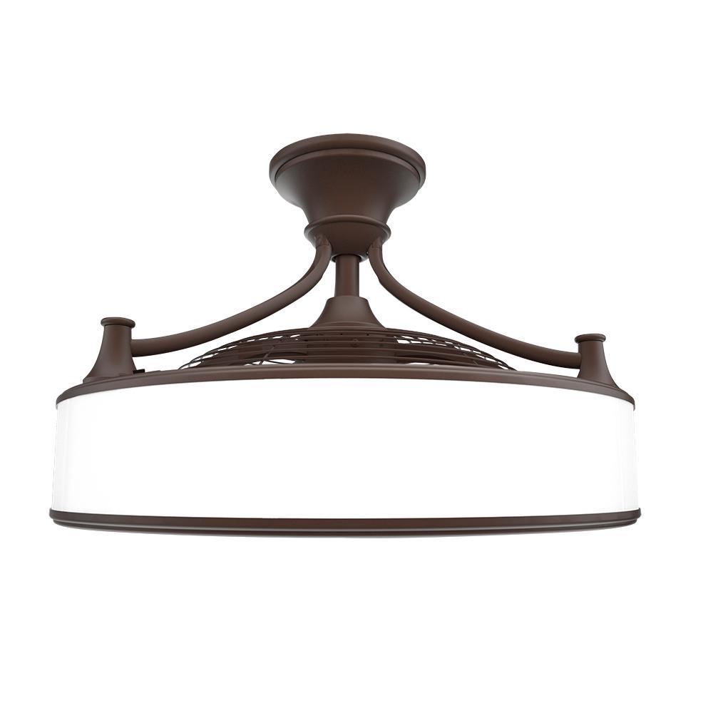 Anderson 22 in. Indoor/Outdoor Espresso Bronze Ceiling Fan