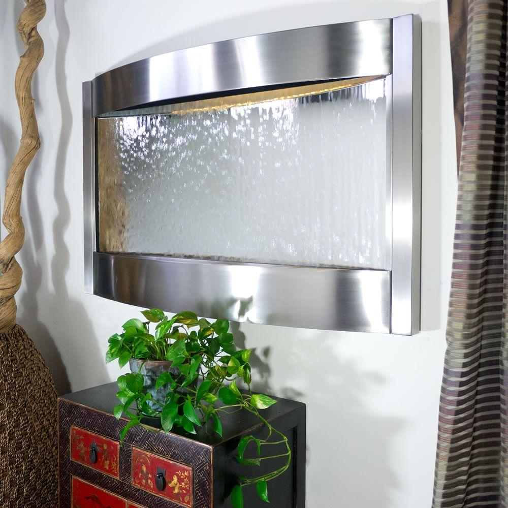 Bluworld of Water 8 ft. Grande Stainless Steel and Silver Mirror ...