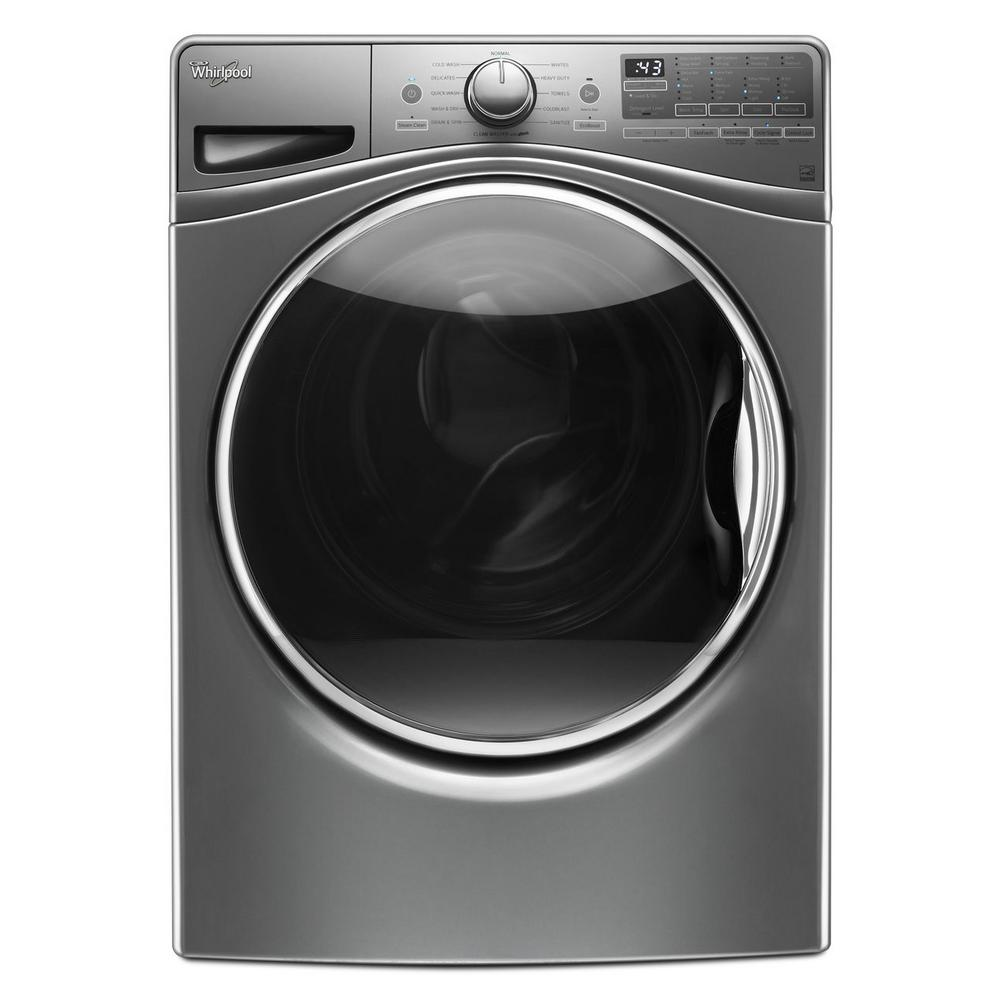 Whirlpool 4.5 cu. ft. Front Load Washer with Load & Go in...