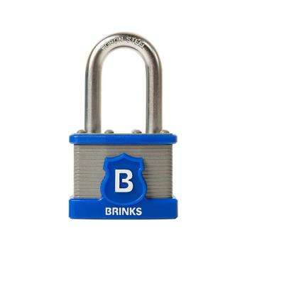 Commercial 44 mm Laminated Steel Padlock with 1-1/2 in. Boron Steel Shackle