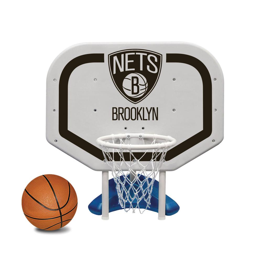 Brookly Nets NBA Pro Rebounder Swimming Pool Basketball Game