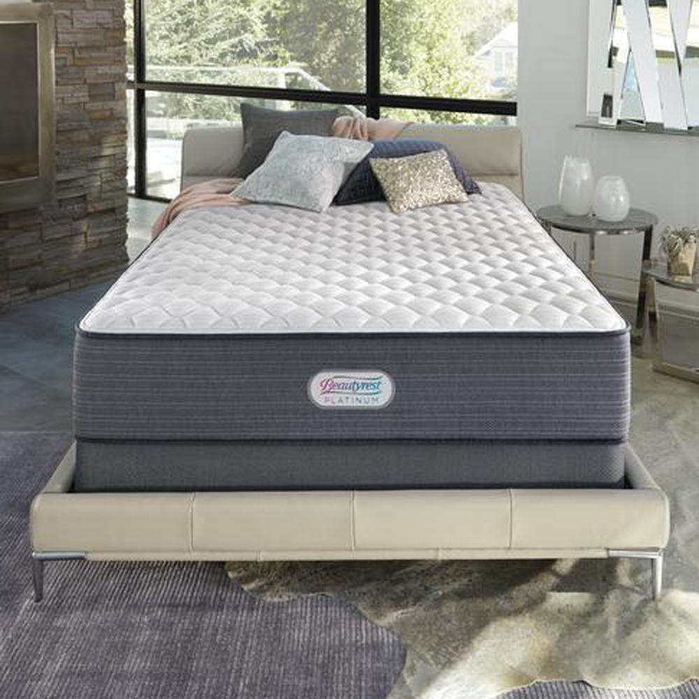 Platinum Spring Grove 14 in. King Luxury Firm Mattress Set