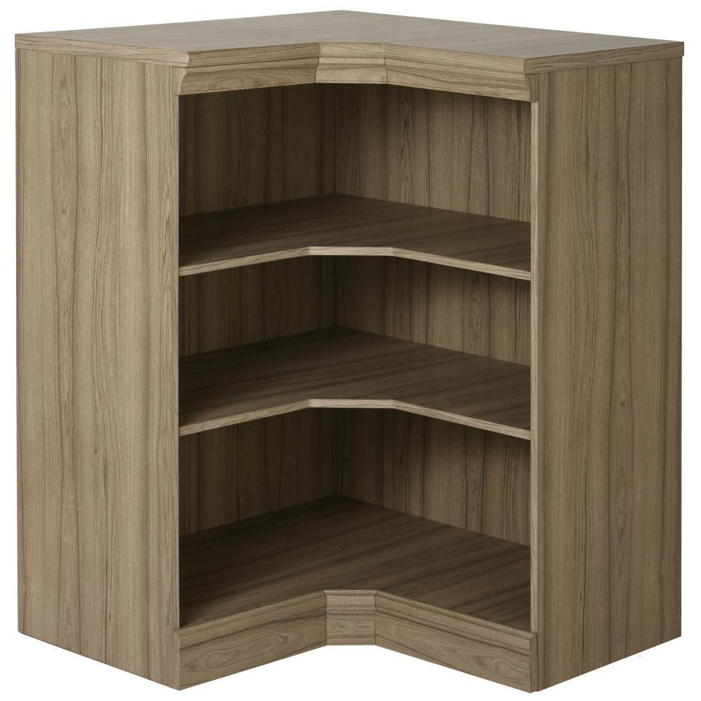 Manhattan Modular 3 Shelf Storage Corner Cabinet In
