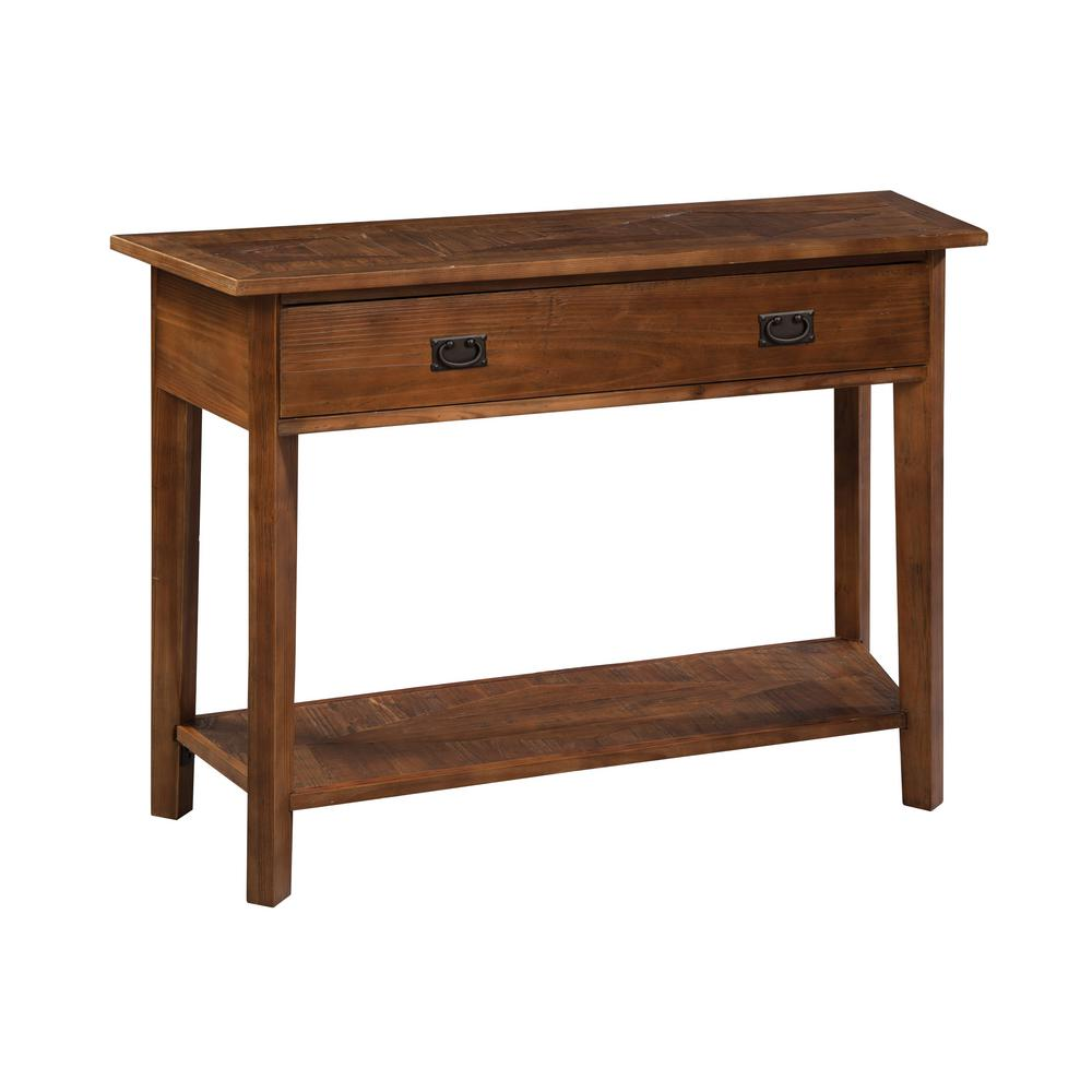 Alaterre furniture revive natural oak storage console table alaterre furniture revive natural oak storage console table arva1420 the home depot geotapseo Images