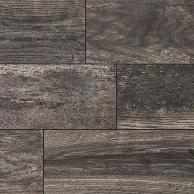 Take Home Sample - Taupe Wood Fusion Laminate Flooring - 5 in. x 7 in.