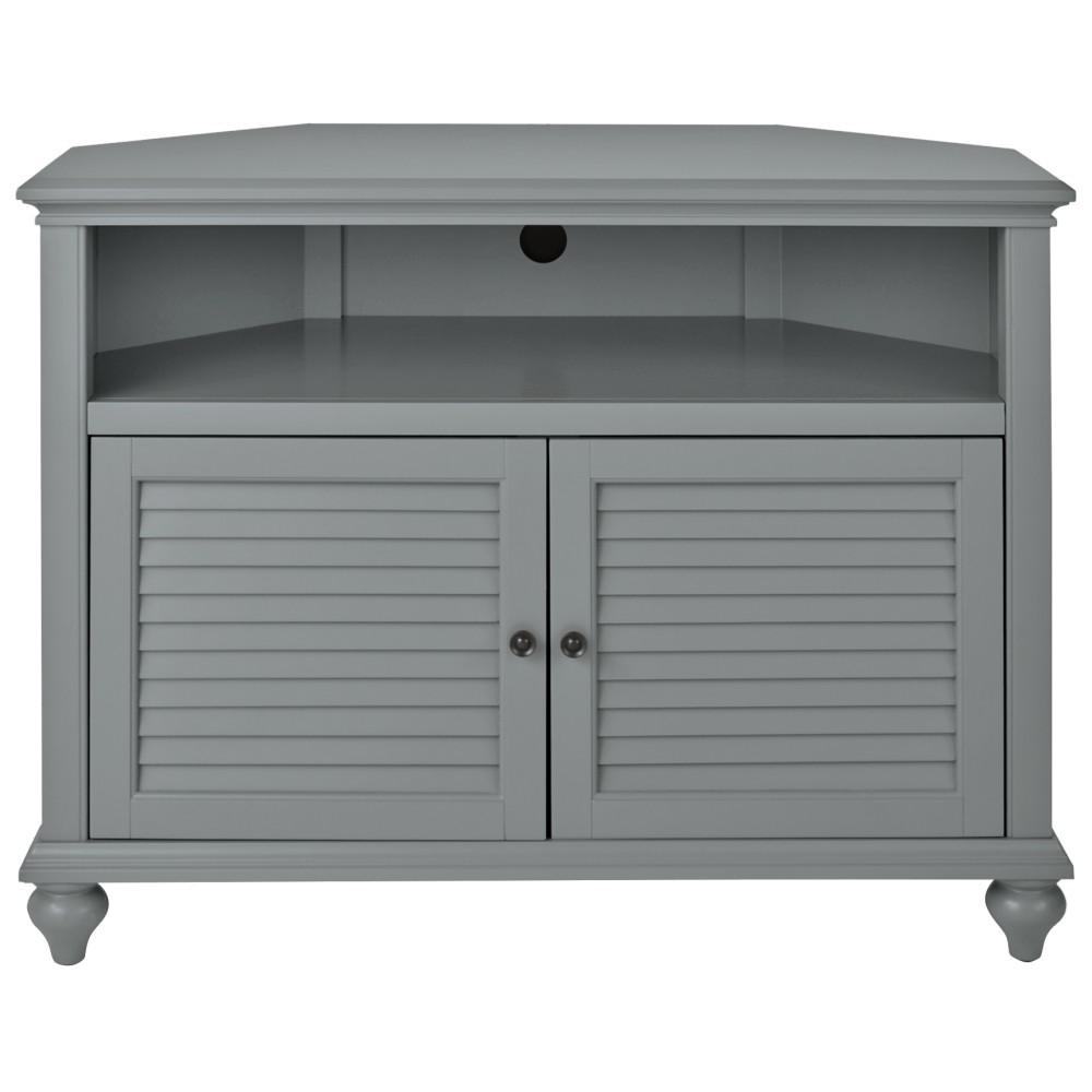 Home Decorators Collection Hamilton 31 In H Grey Highboy Corner Tv Stand