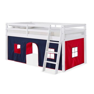 Roxy White with Blue and Red Tent Twin Junior Loft