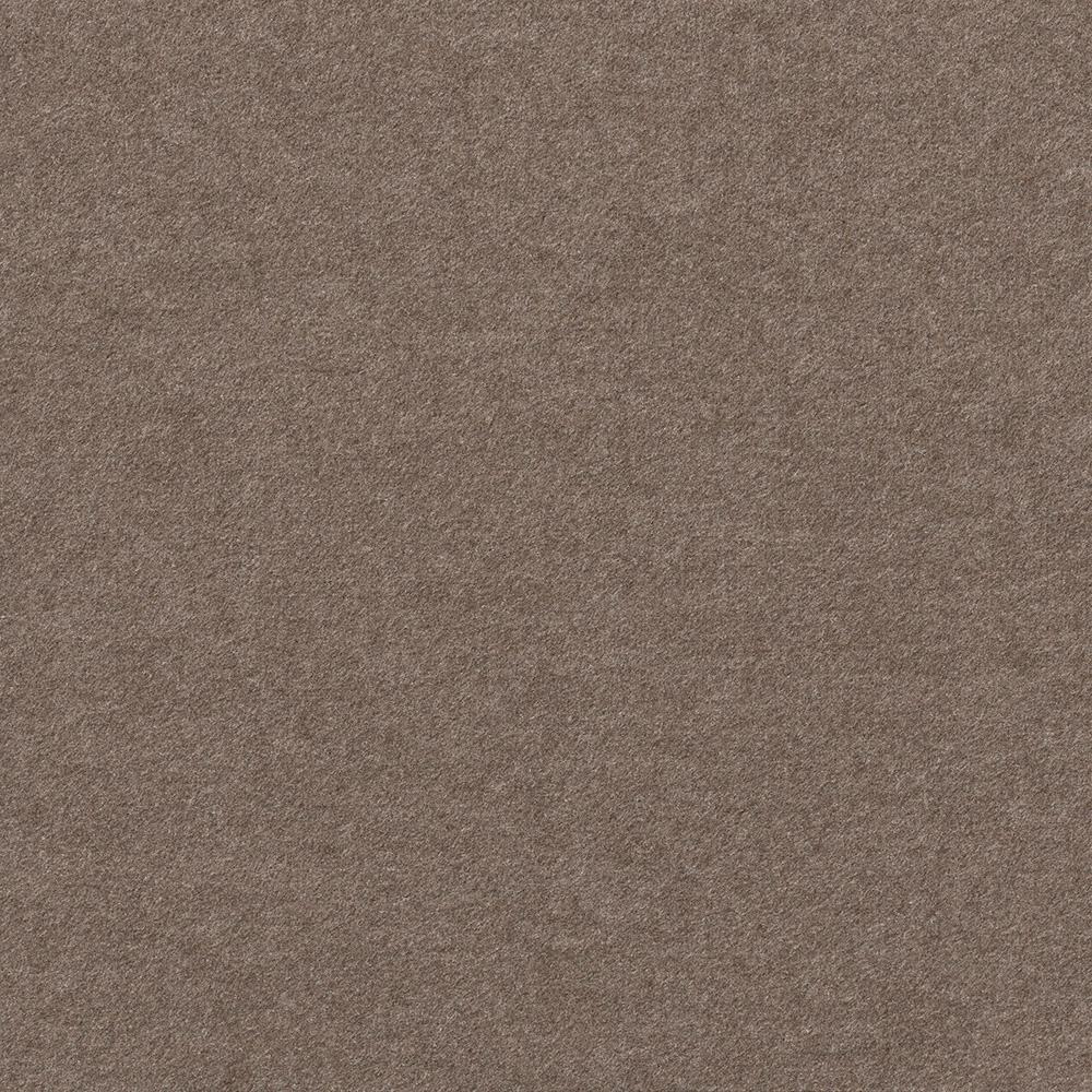 Foss Premium Self-Stick First Impressions Flat Espresso Texture 24 in. x 24 in. Carpet Tile (15 Tiles/60 sq. ft./case)