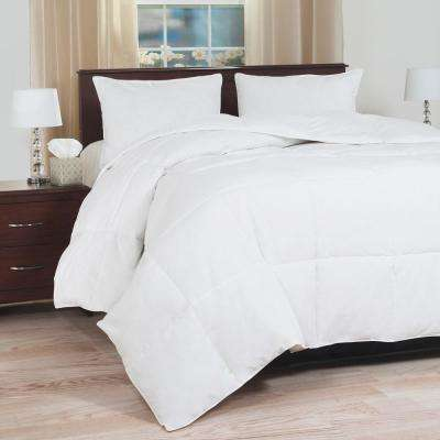 Overfilled White Down Blend Twin Comforter