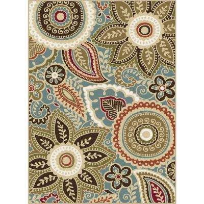 Majesty Seafoam 9 ft. 3 in. x 12 ft. 6 in. Area Rug