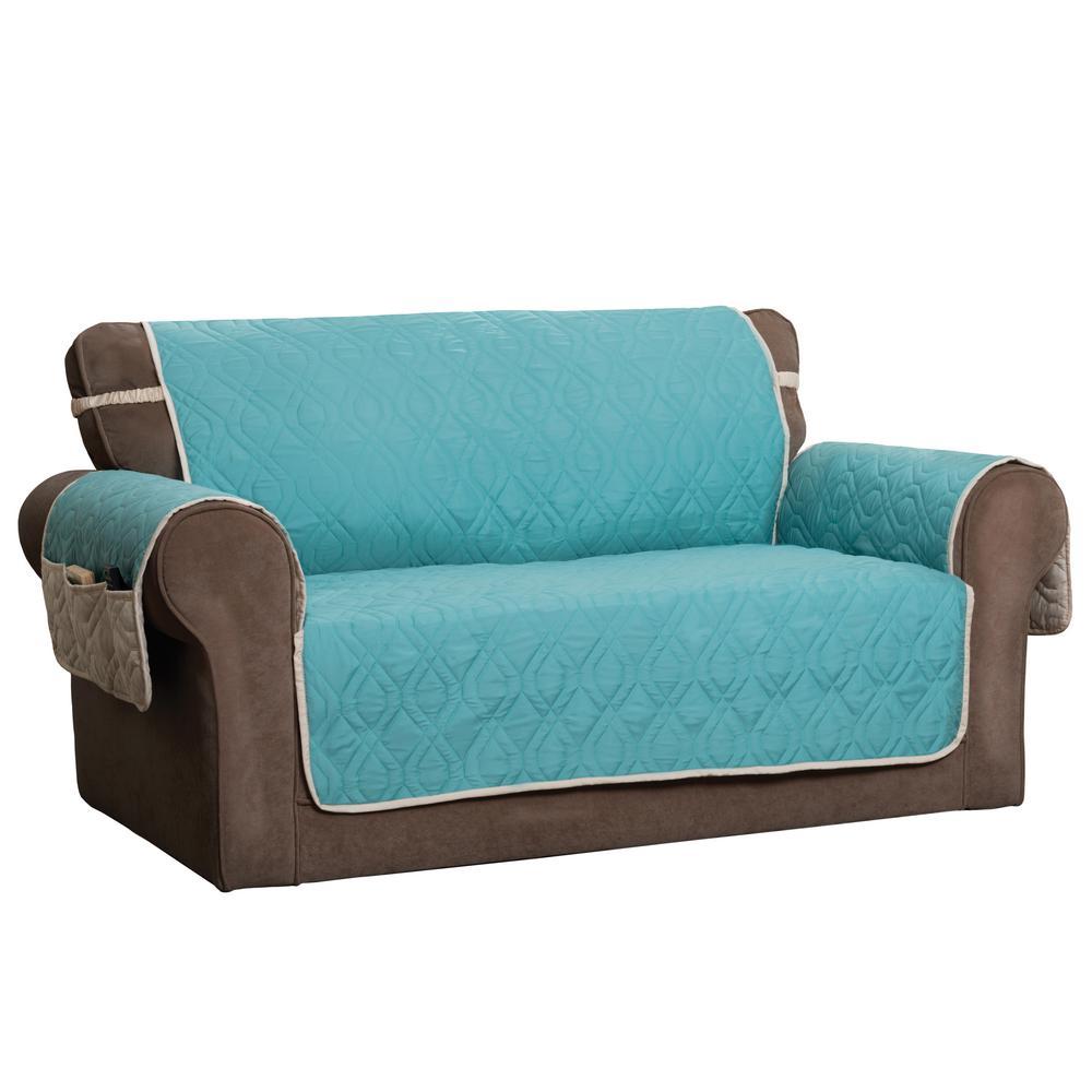 """5 Star Blue Sofa Protector"""