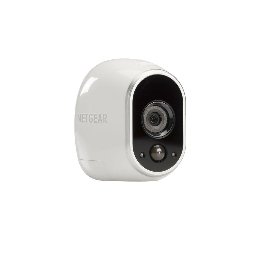 Exterior Home Security Cameras: Netgear Arlo Smart Home Add-On Wireless 1280TVL Indoor