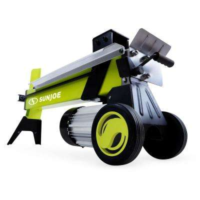 15 Amp 5 Ton Electric Log Splitter with Hydraulic Ram