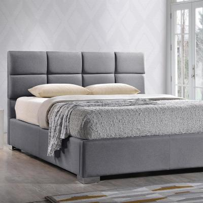 Sophie Gray King Upholstered Bed
