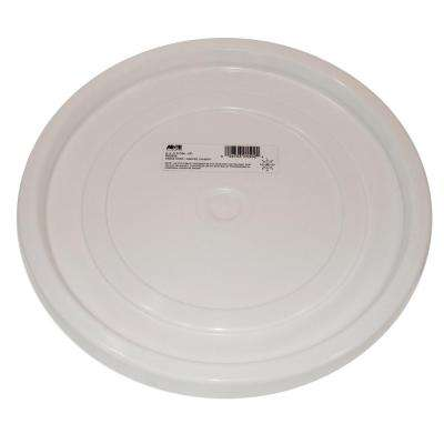 3.5 Gal. and 5 Gal. White Easy-Off Lid (10-Pack)