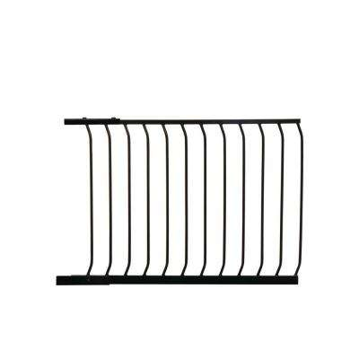 39 in. Gate Extension for Black Chelsea Standard Height Child Safety Gate